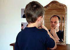 boy mirror